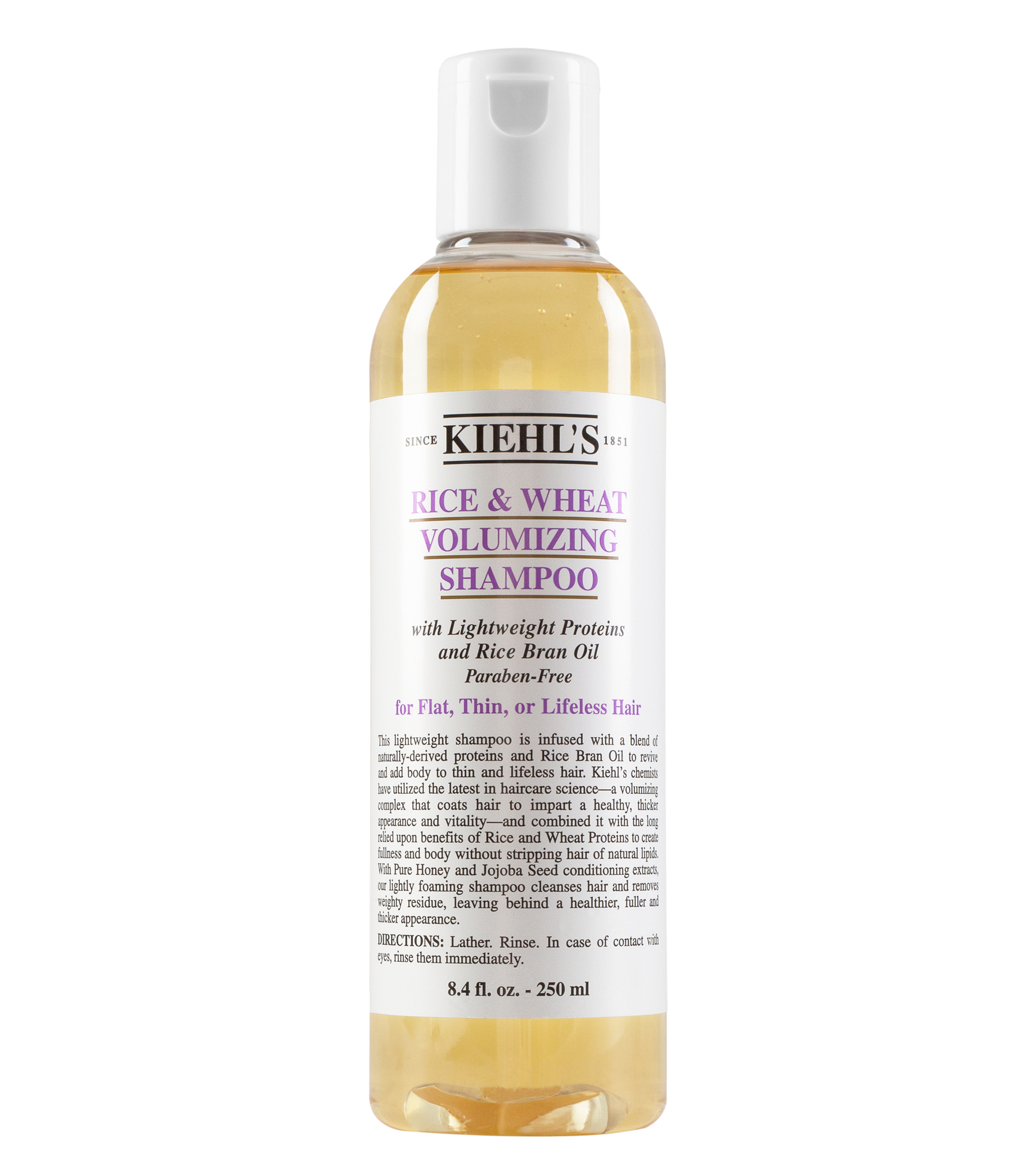 Rice And Wheat Volumizing Thickening Shampoo Collection Kiehls