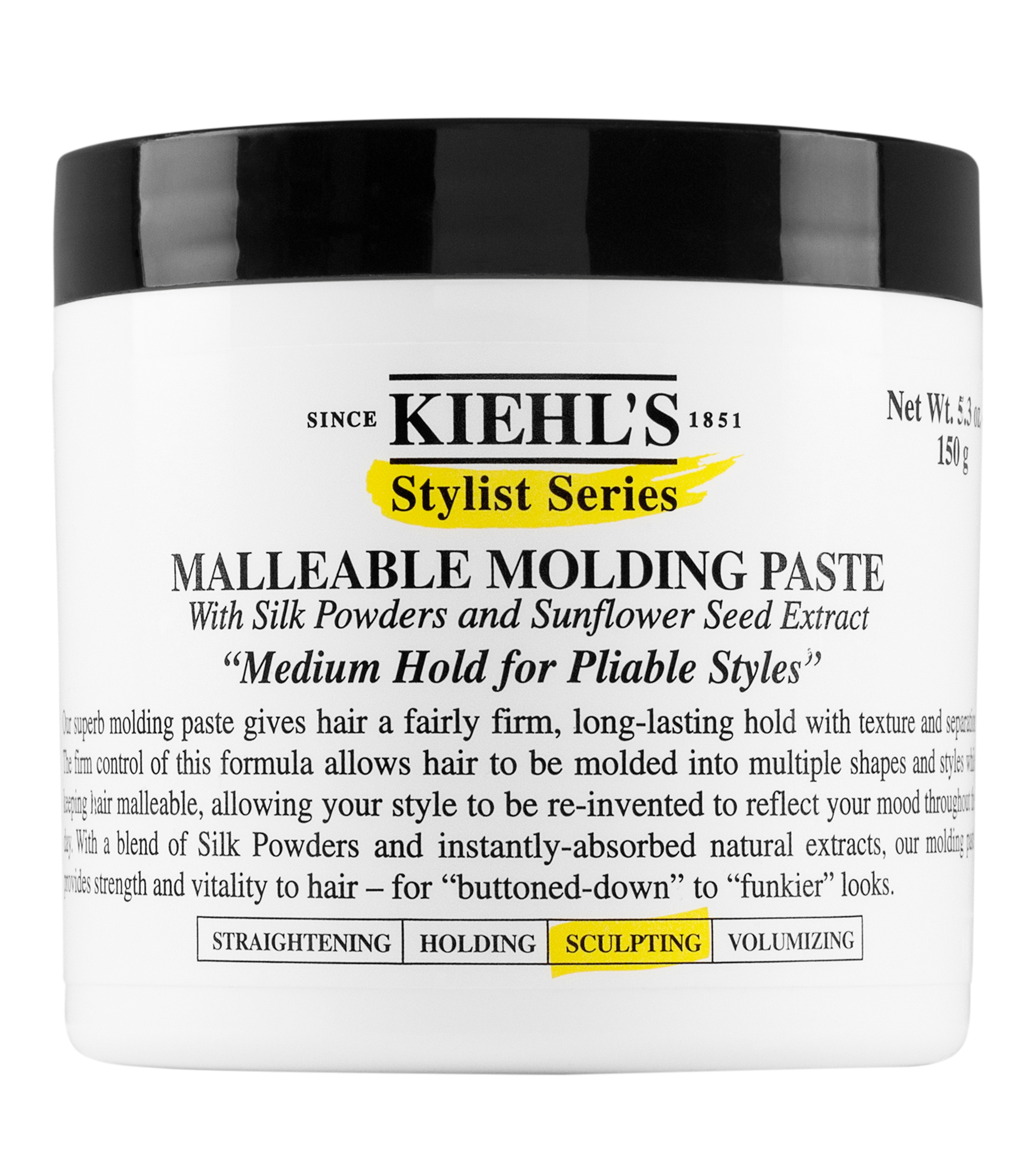 Paste For Hair Styling Malleable Molding Paste  Hair Styling Paste  Kiehl's