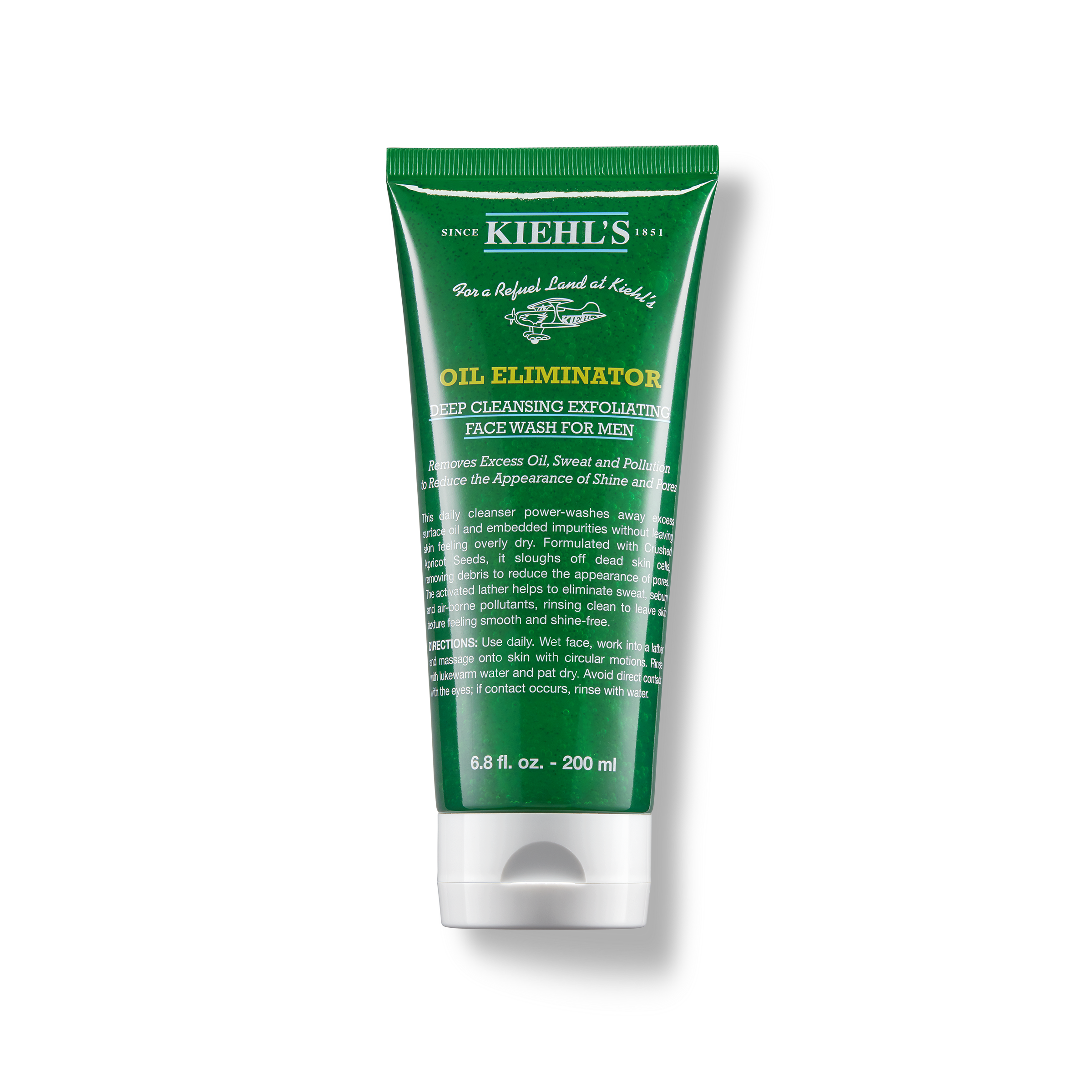 Oil Eliminator Deep Cleansing Exfoliating Face Wash Kiehl S