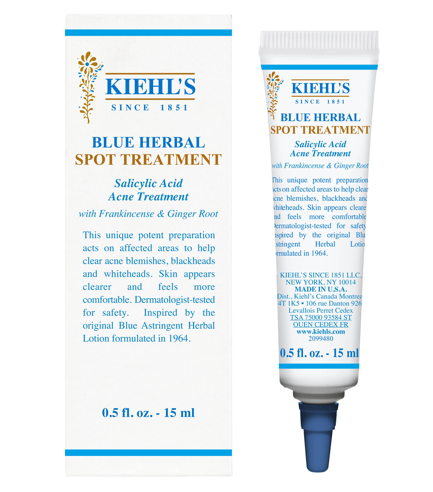 Kiehl's Blue Herbal Spot Treatment