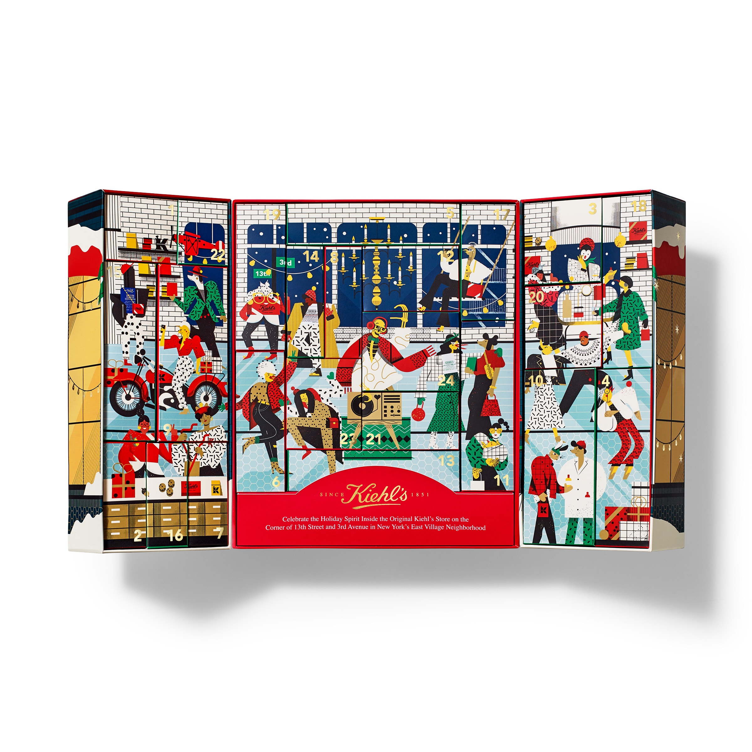 Kiehls Christmas 2020 Sets Limited Edition Skincare Advent Calendar   Kiehl's