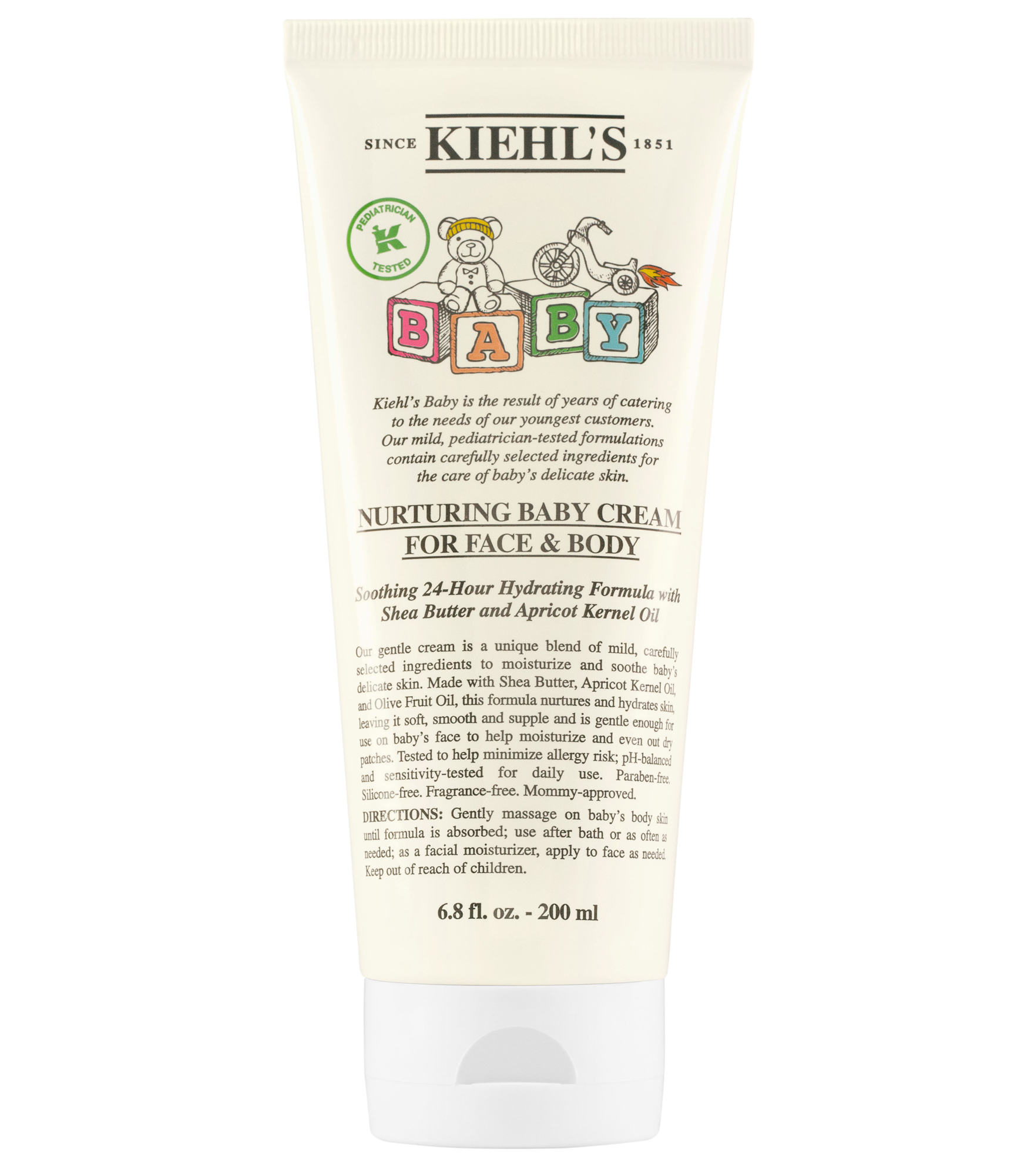 Nurturing Baby Cream For Face Body Kiehls Hydrating Moisturizer