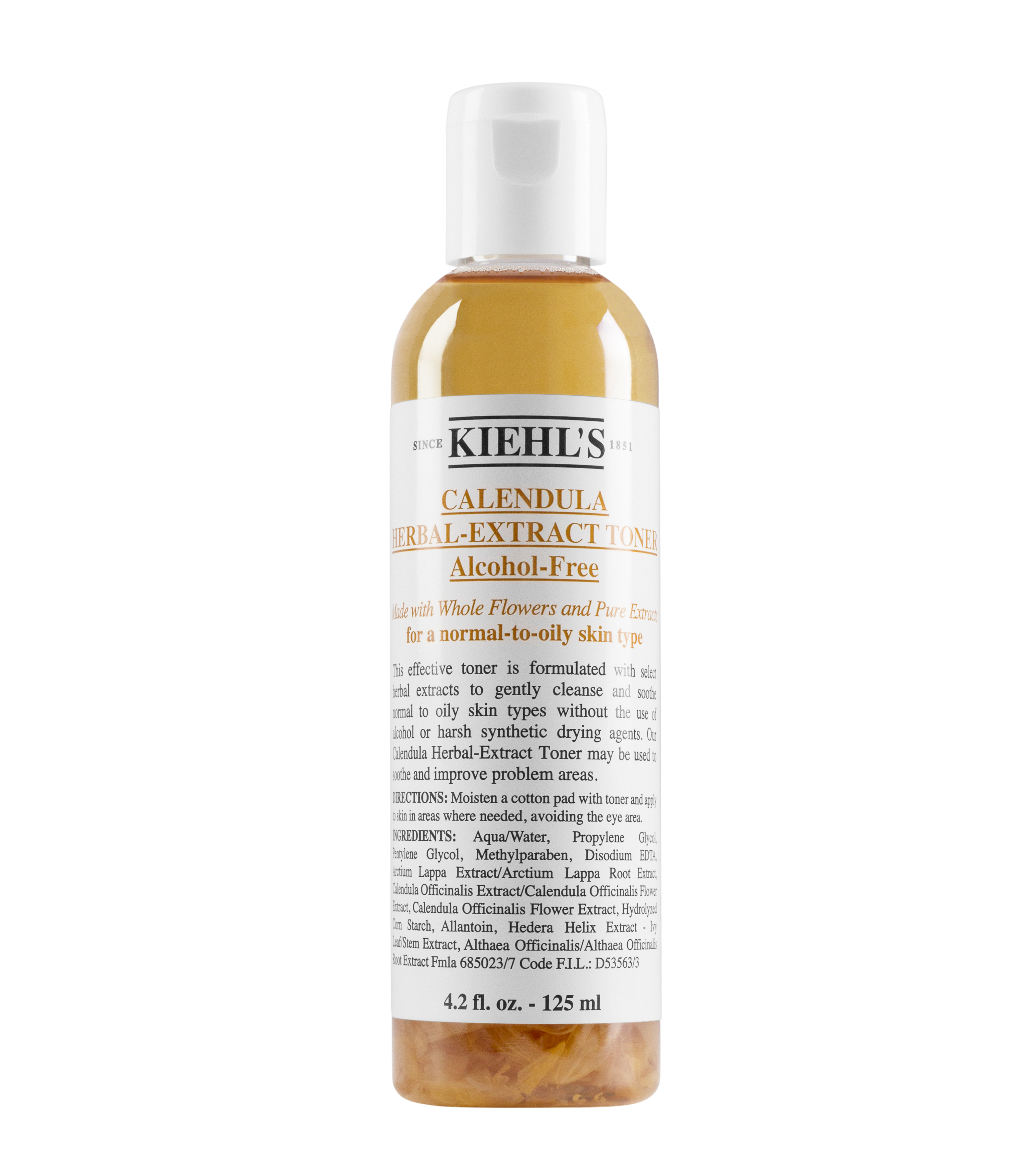 Calendula Herbal Extract Toner Alcohol Free Facial Kiehls Mineral Botanica Acne Care