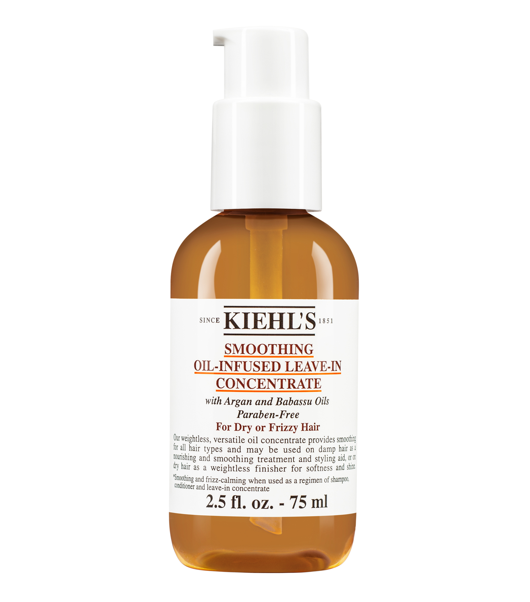 Smoothing Oil Infused Leave In Conditioner Concentrate Kiehls Clear Shampoo Strong Soft Women 170 Ml