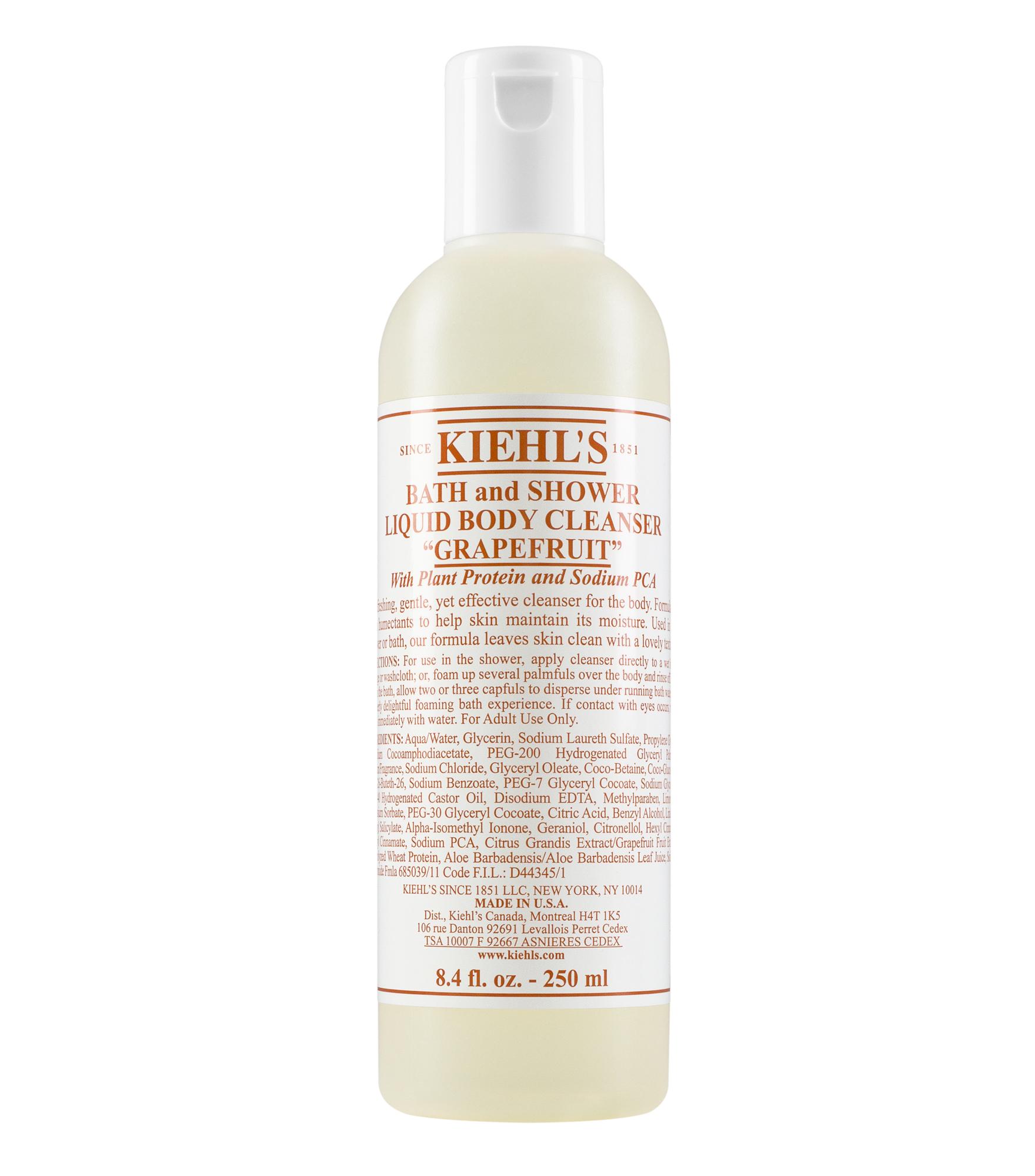 Bath And Shower Liquid Body Cleanser Foaming Wash Kiehls Ovale Cleansing Gel Aloe Vera
