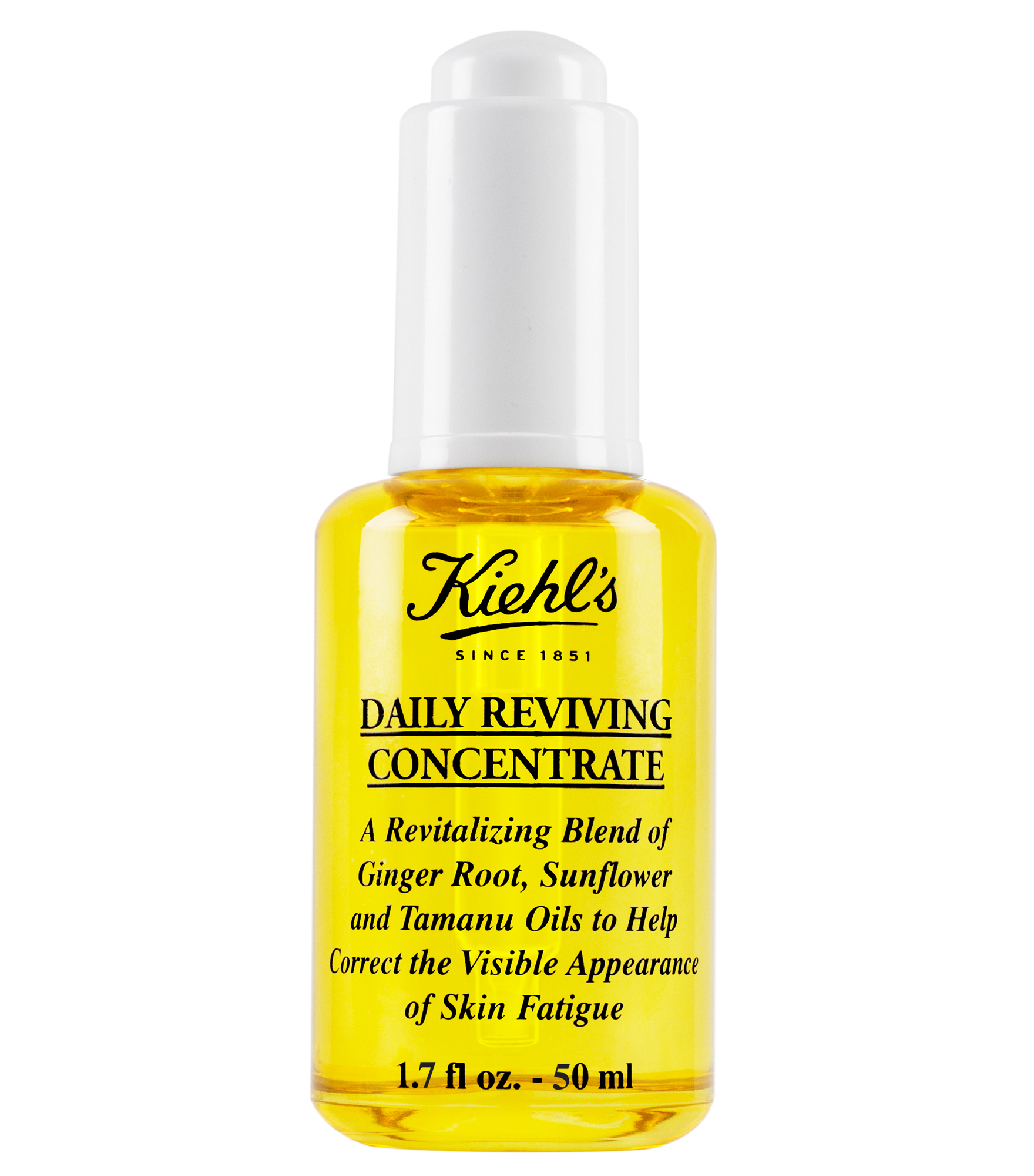 Daily Reviving Concentrate Antioxidant Facial Oil Kiehls Mineral Botanica Whitening Plus Complex Day Cream