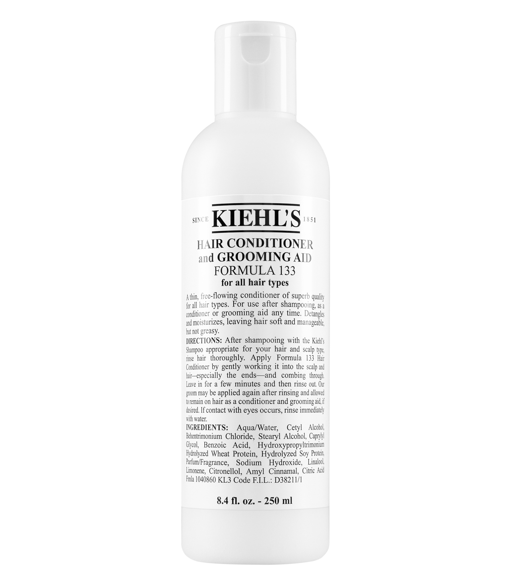 Hair Conditioner And Grooming Aid Formula Kiehls Clear Shampoo Strong Soft Women 170 Ml