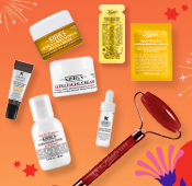 Enjoy 5 deluxe samples and 2 sample packettes on $85+ PLUS a red jasper roller on $150.